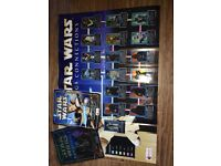 Star Wars Merlin Sticker Collection Albums complete. Episode 1 and Attack of the Clones