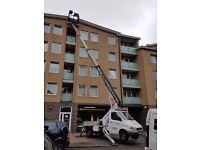 Gutter Cleaning + Cherry picker for hire 24/7 all London and Essex