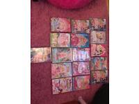 Children's barbie DVD's