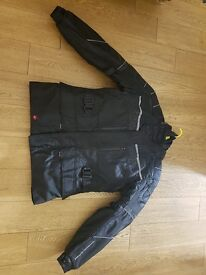 Frank Thomas motorcycle jacket with liner (FTW320) and trousers both size L