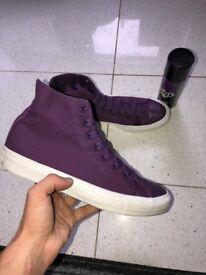Mens Purple Converse Size 9