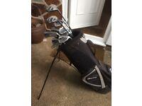 Dunlop golf clubs & bag