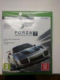 Sealed New Copy of Forza 7