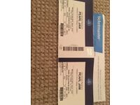 x2 Pearl Jam Tickets (18th June 02 Arena) Can post if required.