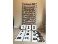 Wedding Table Plan & Numbers