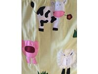 Handmade thermal lined curtains for children's bedroom/nursery