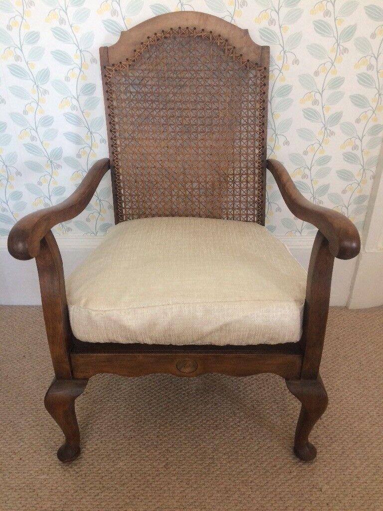 Antique Bergere Chair - Antique Bergere Chair In Greenock, Inverclyde Gumtree