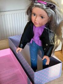 Design a friend collectible doll new with box