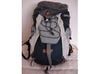 JACK WOLFSKIN 38 LITRE BACKPACK