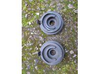SUZUKI GSXR750 WN/WP HEADLIGHT BULB RUBBERS