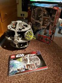 Star Wars Death Star Lego set. Retired