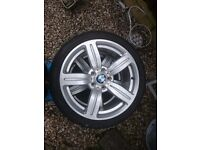 "4 x BMW 18"" alloys"