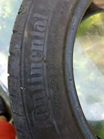 Brand new continental tyre