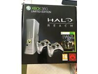 Limited Edition Xbox 360 Halo Reach 250GB Console + Samsung Syncmaster LD220HD Monitor/TV + 10 Games