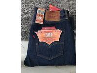 Brand new genuine Levi 501 men's jeans! 31 waist 30 leg length