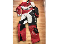 Teknik Motorcycle Leather Suit - One Piece Size 50/60