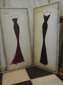 A pair of Emily Adams prints
