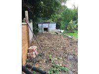 Garden Solid concrete blocks