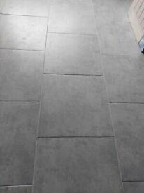 Urban Grey Matt Porcelain floor tiles