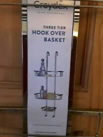 Over shower basket