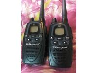 Midland g7 walkie talkies