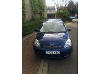 TOYOTA YARIS 2005,D4D,T SPIRIT IN GOOD CONDITION,30 POUND ROAD TAX FOR YEAR.