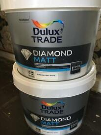 Dulux paint and equipment