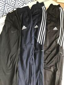 Boys Adidas/Nike tracksuit bottoms age 11/12/12-13