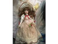 Zoe Porcelain Doll - £5