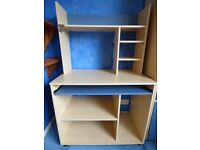 Desk with Built-in Storage