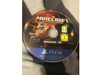 Minecraft Ps4 unboxed £8