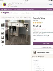 Currently on Wayfair for £295