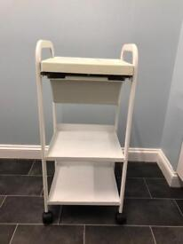 Beauty therapy waxing trolley