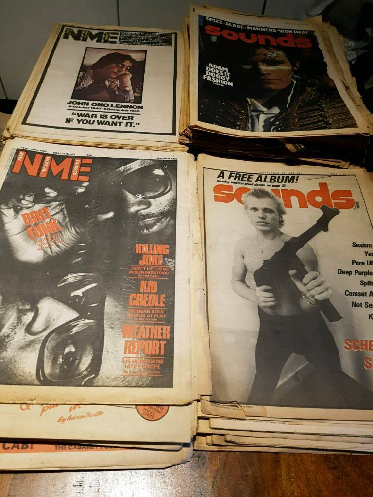 72 x NME SOUNDS RECORD MIRROR MELODY MAKER MUSIC MAGAZINES 1980