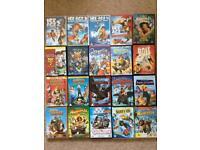 20 kids DVD's, all original unmarked, bargain