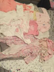 Girls baby bundle clothes