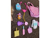 Baby alive sweet tears doll and accessories