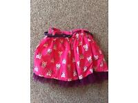 Owl Skirt from George 1.5-2 yrs