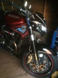 for sale suzuki gsf 1200 sv bandit 1 years mot 38000 miles very good condition nice show bike