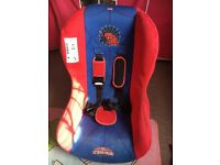 Spiderman Car Seat
