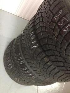 4 Nokian winter tires:255/55R17