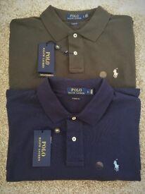 Mens Ralph Lauren Polo Shirts Genuine