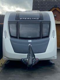 Touring Caravan 2015 Sterling/Swift Eccles Sport 586SR