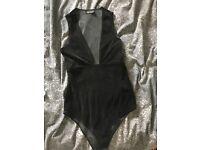 Topshop bodysuit size 10