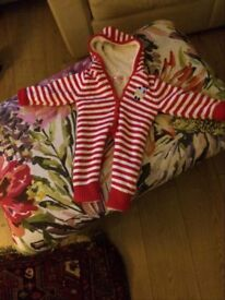 All in one snuggly suit never worn 6-12 months