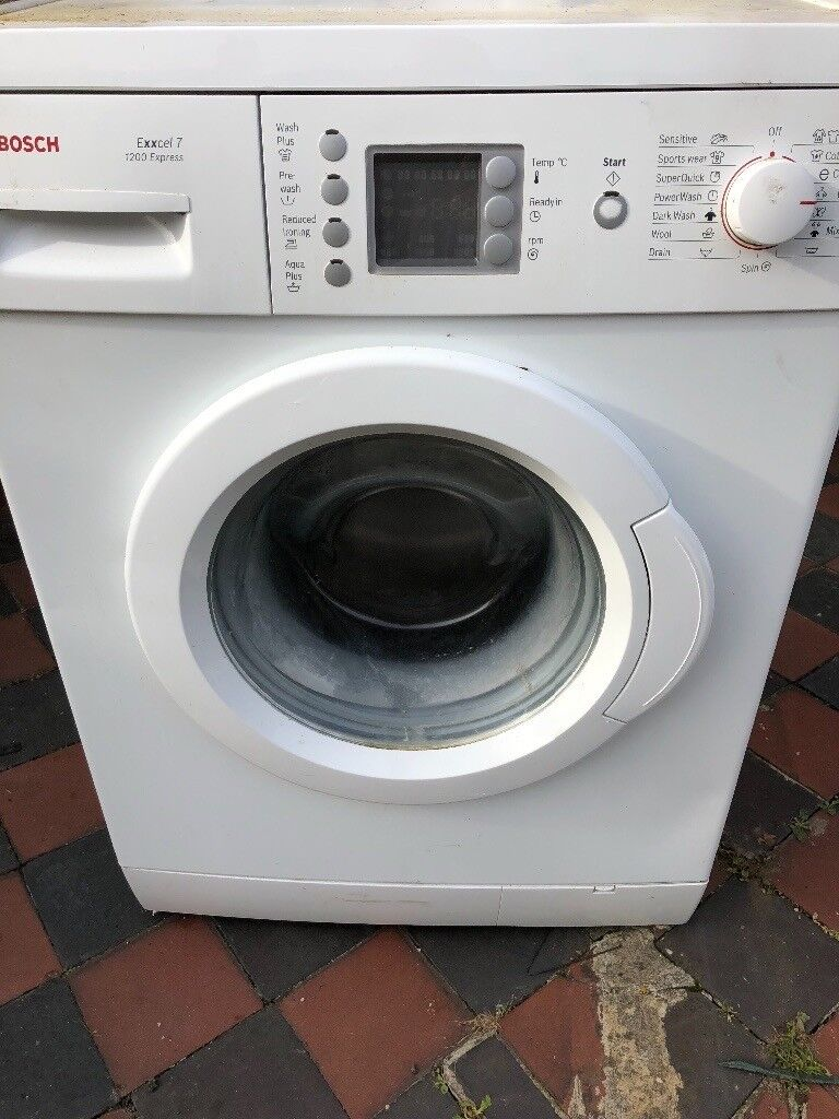 Bosch exxcel 1200 washing machine noisy spin  Works fine | in Ilford,  London | Gumtree