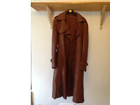 Vintage - Leather Coat - House Clearance