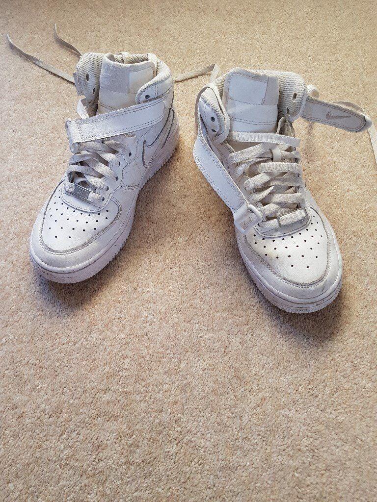 buy popular 7161e 70b92 Nike Air Force 1 Mid Women s UK size 4 White (slightly worn)