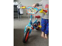 "12"" Paw Patrol Bike - Used outside once. Like brand new!"