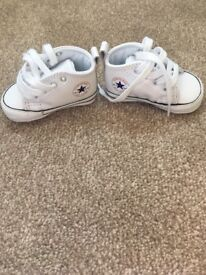 Baby converse, worn once